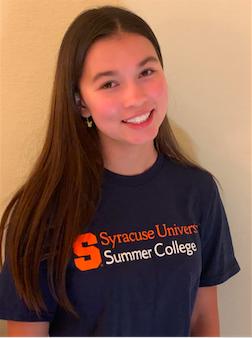 Syracuse University Summer College precollege interior design environmental design student