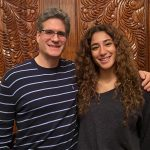 Syracuse University Summer College precollege student and her father